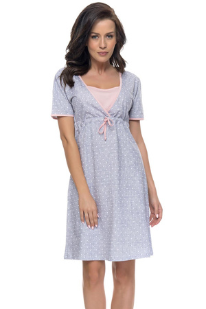Dn-nightwear TCB.4044 Nocna koszula, light grey